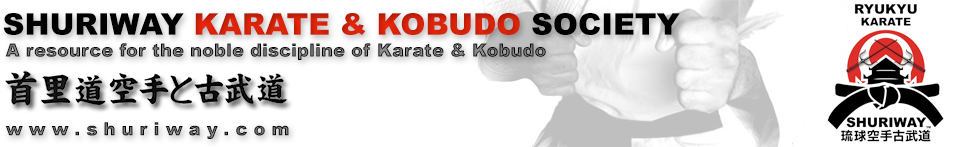 Shuriway Karate & Kobudo Resource Website